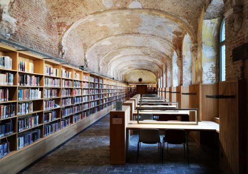 Nieuwe stadsbibliotheek Mechelen verwarmd met geothermische gaswarmtepompen - Nieuws ClimaWays