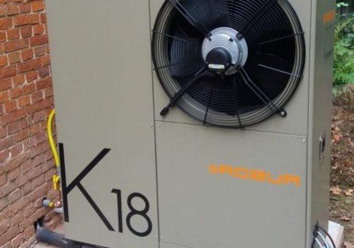 Van mazoutketel naar een ROBUR K18 gasabsorptiewarmtepomp - Nieuws ClimaWays